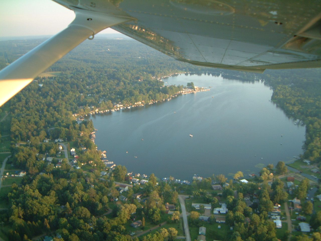 Sky View of Canadohta Lake